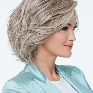 Unfiltered | Brunette Black Blonde Rooted Women's New Arrivals Short Lace Front Wigs - wigglytuff.net
