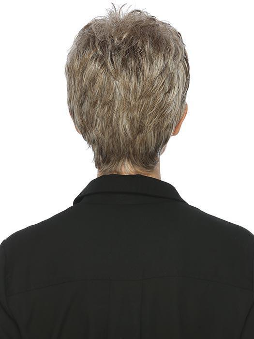 Vikki | Brunette Rooted Black Gray Wigs - wigglytuff.net