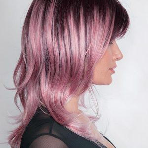 Elliot | Rooted Colored Straight Women's Synthetic Wigs - wigglytuff.net