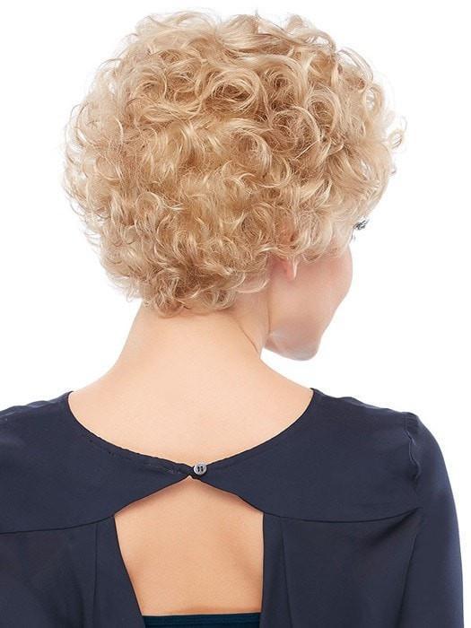 Lily   Red Women's Curly Brunette Short Wigs - wigglytuff.net