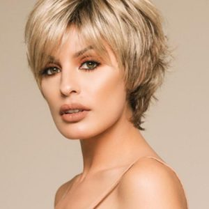 Open | Rooted Short Layered Women's Wigs - wigglytuff.net