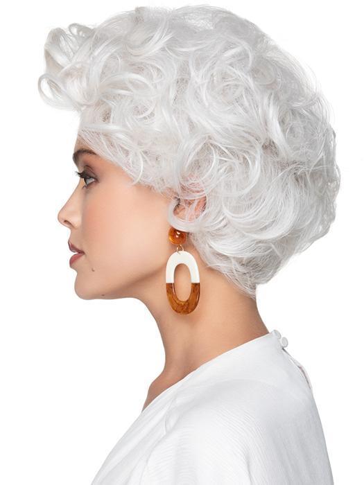 Tapered Curls   Bob Synthetic Brunette Blonde Red Women's Short Wigs - wigglytuff.net
