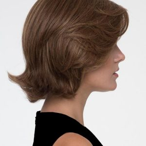 Sabrina | Layered Brunette Short Blonde Mid-Length Women's Red Straight Wigs - wigglytuff.net