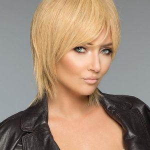 Savvy   Layered Human Hair Women's Straight Wigs - wigglytuff.net