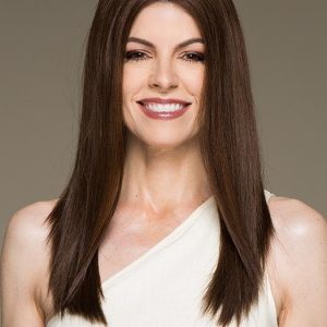 Xenita   Layered Brunette Rooted Blonde Wavy Monofilament Lace Front Wigs - wigglytuff.net