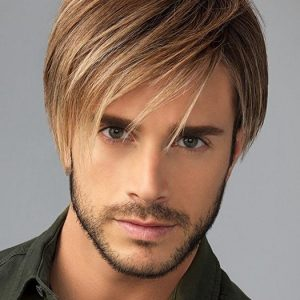 Chiseled | Straight Short Men's Lace Front Brunette Wigs - wigglytuff.net