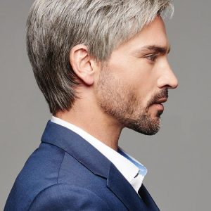 Reserved | Straight Synthetic Men's Short Wigs - wigglytuff.net