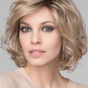 Wave Deluxe | Curly Monofilament Brunette Short Wavy Lace Front Wigs - wigglytuff.net