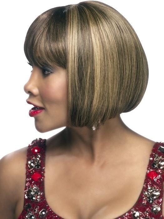H-280 | Mid-Length African American Straight Human Hair Wigs - wigglytuff.net