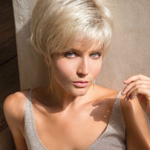 Ivy   Short Rooted Women's Straight Synthetic Blonde Wigs - wigglytuff.net