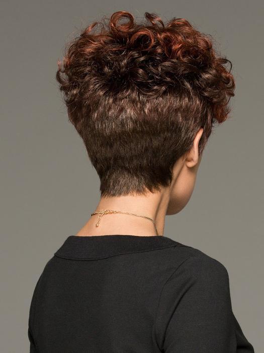 Kaitlyn | Short Red Women's Synthetic Blonde Gray Wigs - wigglytuff.net