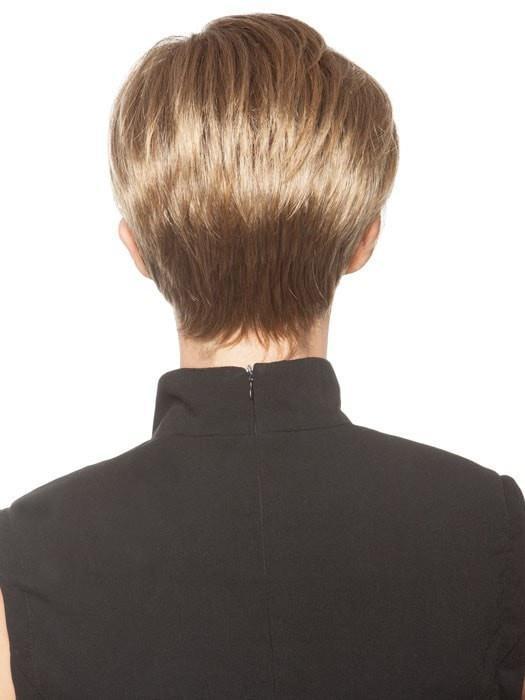 Kris | Short Red Women's Black Rooted Straight Wigs - wigglytuff.net