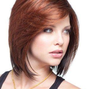 May | Mid-Length Straight Short Blonde Brunette Wigs - wigglytuff.net