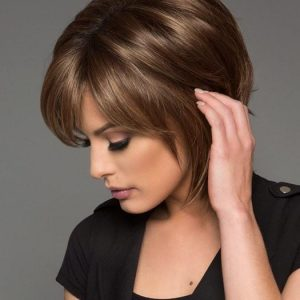Reese Gradient Colors   Short Women's Straight Layered Wigs - wigglytuff.net