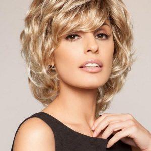 Salsa | Mid-Length Short Blonde Women's Layered Brunette Black Synthetic Wigs - wigglytuff.net