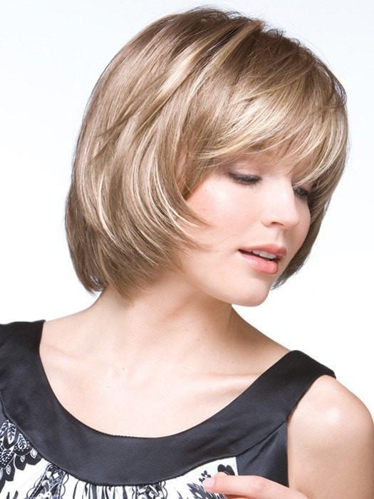 Shannon   Mid-Length Straight Brunette Blonde Wigs - wigglytuff.net