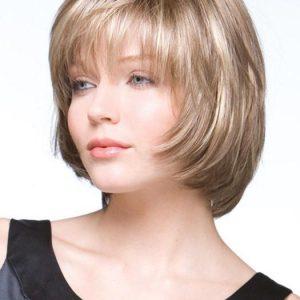 Shannon | Mid-Length Straight Brunette Blonde Wigs - wigglytuff.net