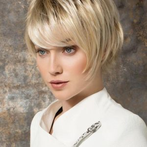 Sky   Short Rooted Women's Straight Blonde Wigs - wigglytuff.net