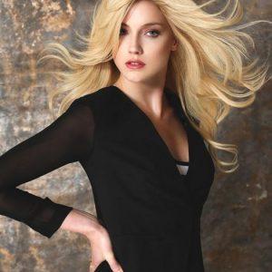 Cascade | Long Women's Brunette Blonde Lace Front Straight Red Curly Wigs - wigglytuff.net