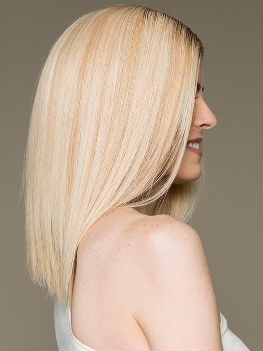 Gwyneth Exclusive Colors | Long Women's Mid-Length Rooted Lace Front Straight Wigs - wigglytuff.net
