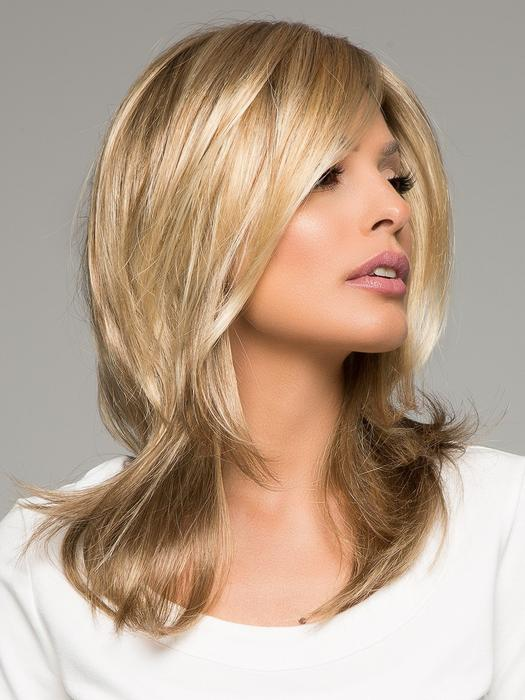 Julia | Long Women's Black Synthetic Lace Front Blonde Red Wigs - wigglytuff.net