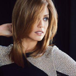 Laine | Long Synthetic Mid-Length Blonde Women's Wigs - wigglytuff.net