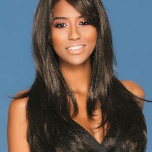 McKenzie | Long Black Women's Brunette Red Wigs - wigglytuff.net