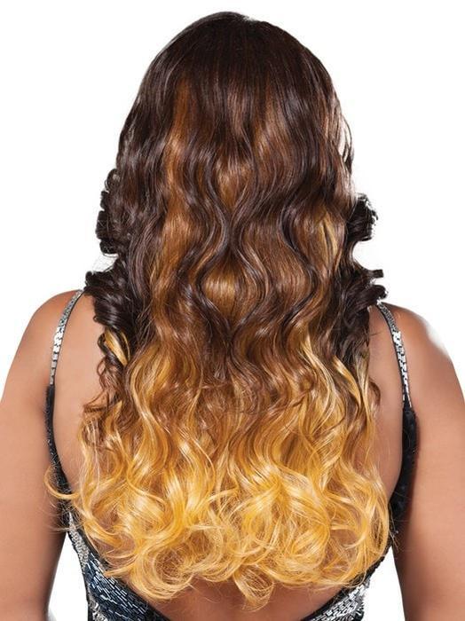 Melrose | Long Curly African American Black Women's Wigs - wigglytuff.net