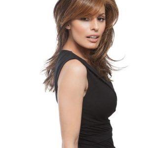 Spotlight Elite | Long Blonde Black Straight Rooted Brunette Women's Layered Wigs - wigglytuff.net